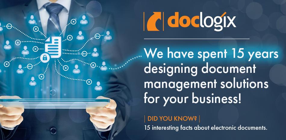 DocLogix celebrates its 15th anniversary!