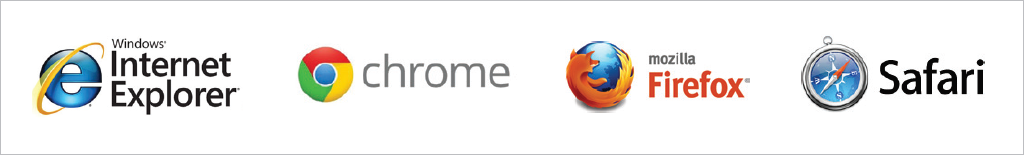 Compatibility with web browsers