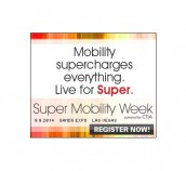 Let's meet at the Super Mobility Week (USA)