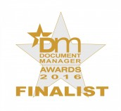 DocLogix - the finalist at the Document Manager Awards 2016