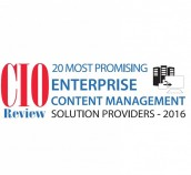 DocLogix recognized as the most promising enterprise content management solution provider 2016