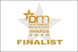 Document Manager Awards 2016 DocLogix project